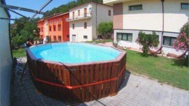Como construir uma piscina com paletes de madeira