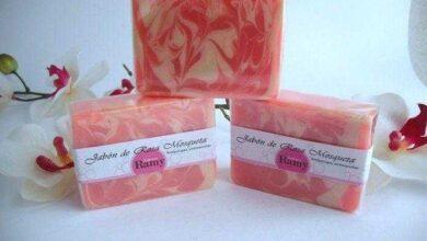 Foto de Receita de sabonete caseiro de rosa mosqueta e aloé vera