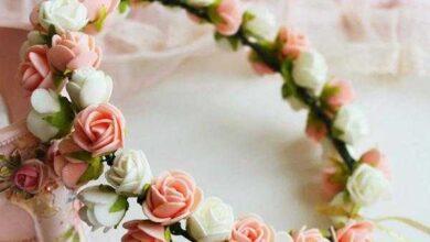 Foto de Como fazer coroa de flor maravilhosa