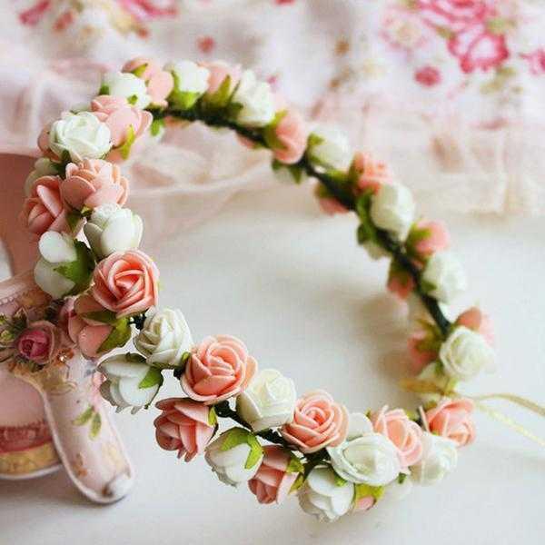 Como fazer coroa de flor maravilhosa