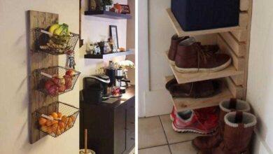 Foto de Ideias simples para poupar espaço em casa