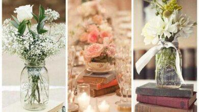24 Ideias de decoração para casamento simples e lindo