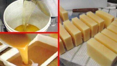 Foto de Aprenda a fazer sabão com óleo de fritura usado