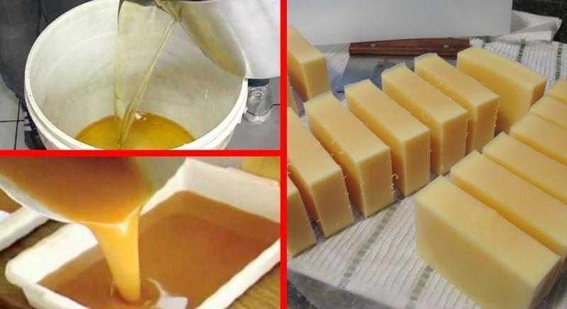 Aprenda a fazer sabão com óleo de fritura usado