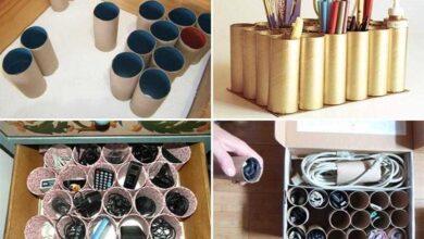 Foto de Como reciclar rolos de papel higiênico