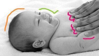7 Benefícios da massagem para os bebês