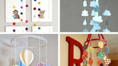 Ideias de artesanato para o quarto do bebê dd