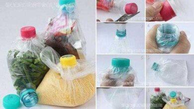 Como conservar alimentos em garrafas PET