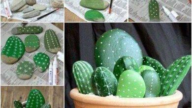 Foto de Como fazer Cactos feitos de pedras