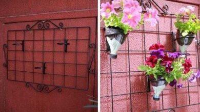 Como fazer Jardim vertical com garrafa PET