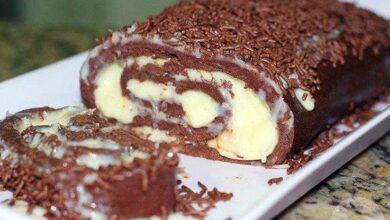 Como fazer rocambole caseiro de chocolate
