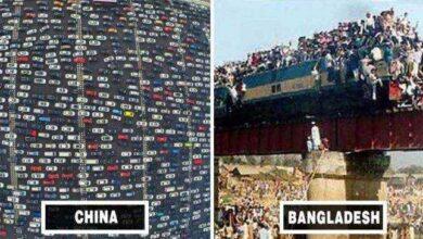 Foto de A hora do rush em diferentes países de um jeito que você nunca viu