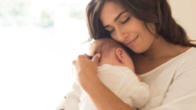 Foto de Colo faz bem para o cérebro do bebê