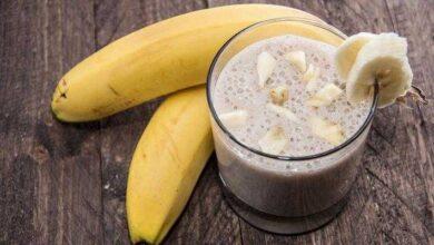 Aprenda a fazer shake proteico de banana r