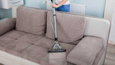 Como limpar o sofá com aspirador de pó