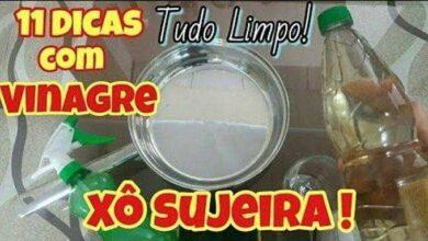 11 DICAS DE LIMPEZA DA CASA COM VINAGRE d