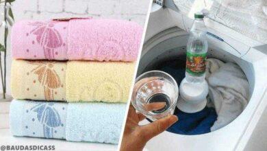 Como deixar toalhas de banho limpas e macias