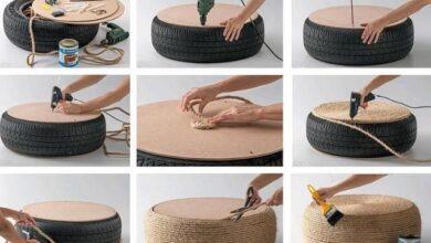 Foto de Ideias criativas para reaproveitar pneus velhos