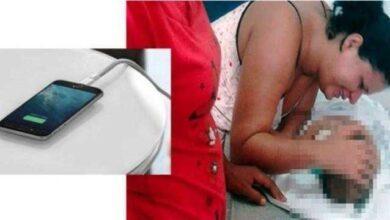 Foto de Alerta! Bebê mexe no carregador de celular e morre eletrocutado
