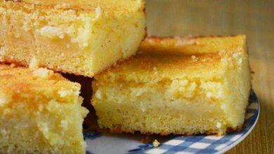 Photo of Bolo de milho cremoso, fica tão gostoso que parece pamonha! Aprenda!