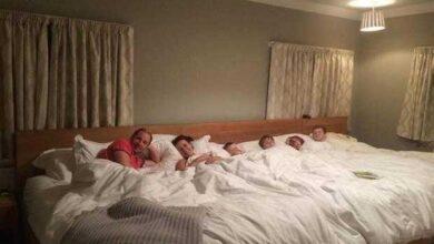 Foto de Cama de 5,5 metros para casal e filhos faz sucesso na internet