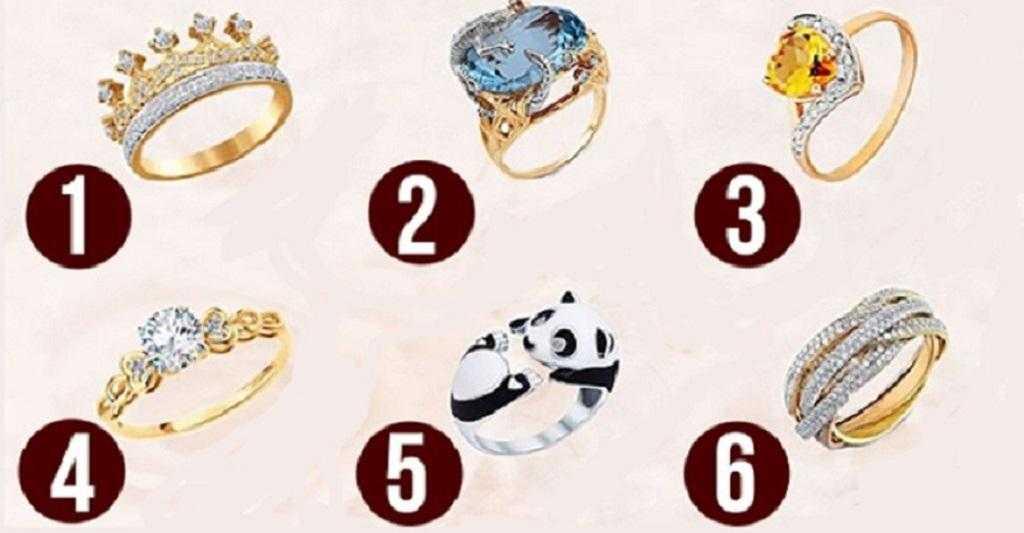 Escolha um anel e descubra que tipo de mulher você é f