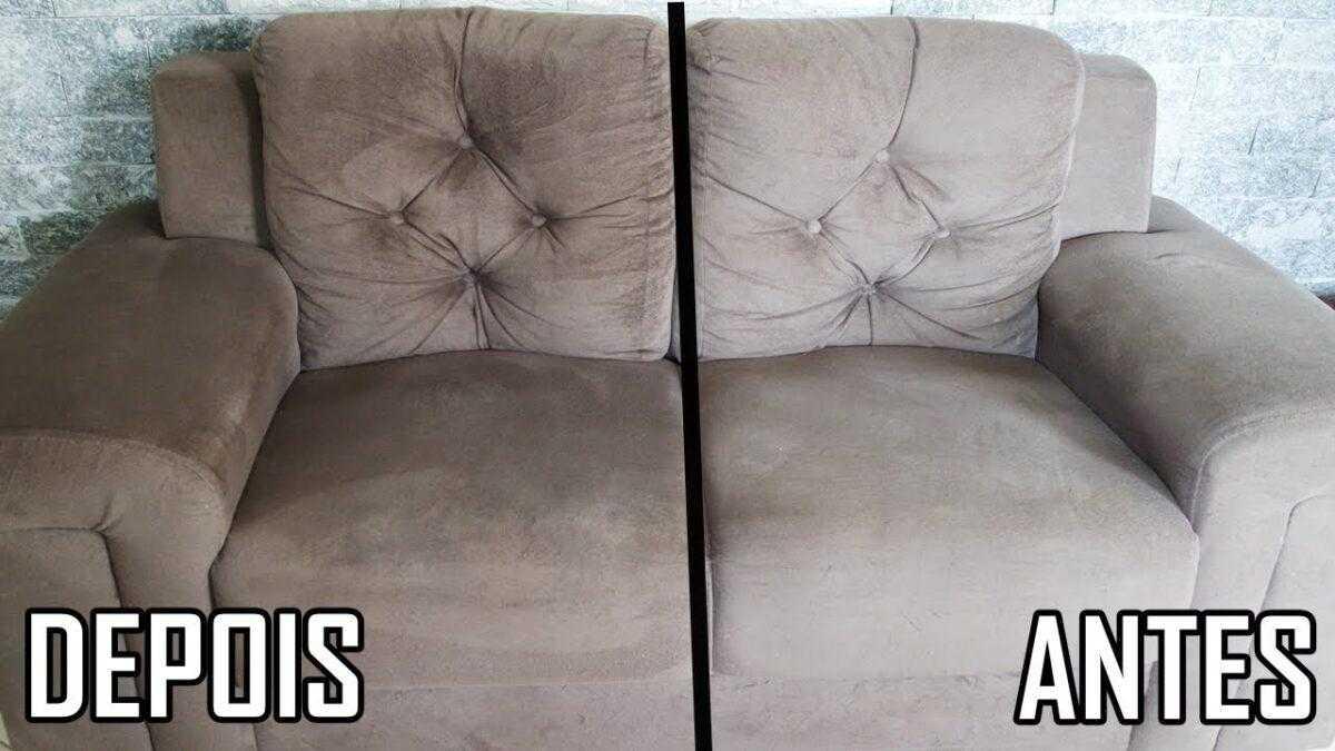 Mistura caseira para limpar sofá sujo e com odores