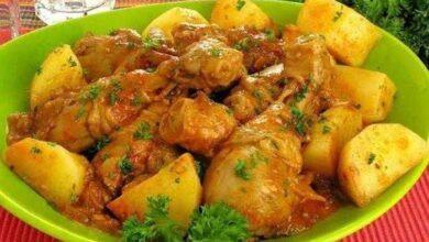 Foto de Receita de frango com molho e batata