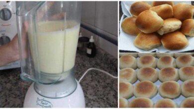 Como fazer um DELICIOSO pãozinho de liquidificador