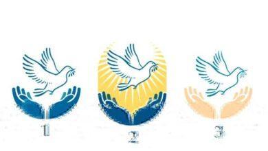 Qual pomba da paz lhe atrai mais? Escolha e veja sua linda mensagem
