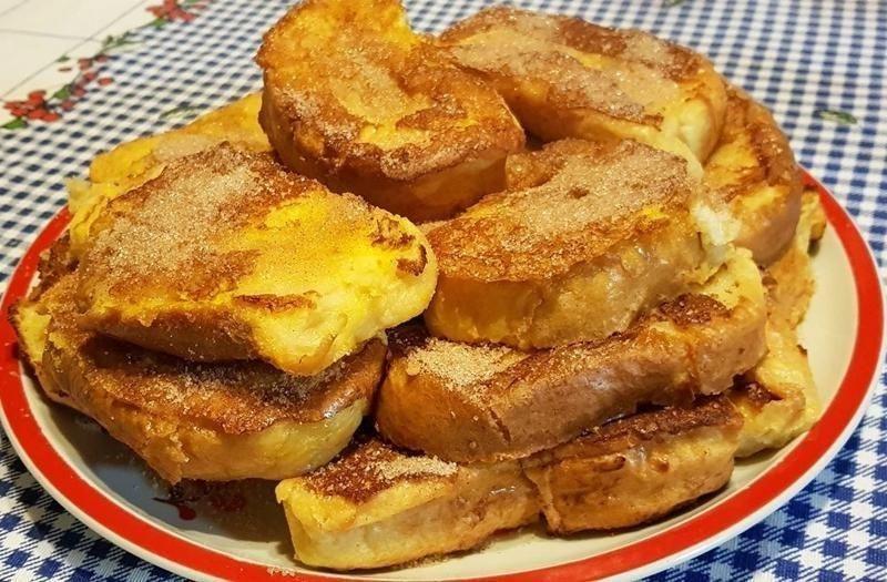 Rabanadas no forno! Sem necessidade de fritar, mais macias e mais suculentas!