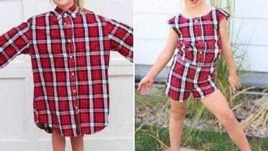 Foto de 10 maneiras de transformar camisas velhas em roupas novas