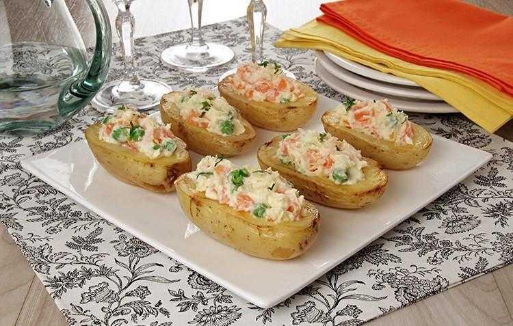 Barquinhas de Batatas com Maionese 2