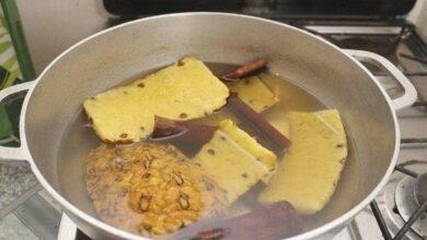 Foto de Chá de abacaxi e canela para diminuir o peso rapidamente