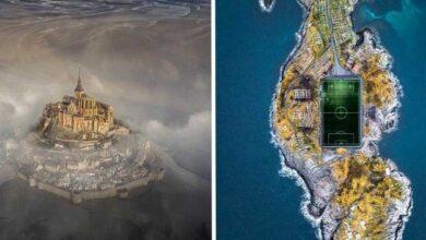 As 25 melhores fotos do mundo feitas por drones