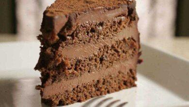 Bolo Gelado de Chocolate com Nutella