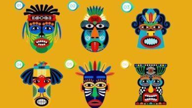 Escolha uma máscara e descubra qual é a sua atitude em relação à vida