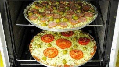 Pizza Caseira de Liquidificador Pratica
