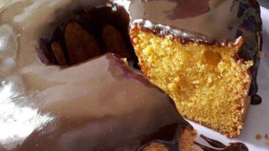 Receita de bolo de cenoura delicioso e pratico