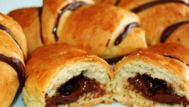 Foto de Receita de Croissant de Chocolate