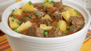 Foto de Sopa cremosa de costela com mandioca