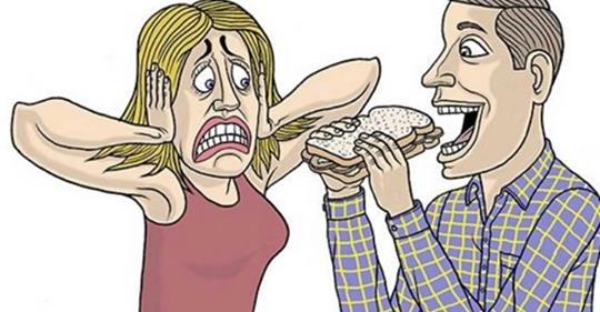 Ciência diz que as pessoas que se irritam com sons de mastigação são mais criativas!