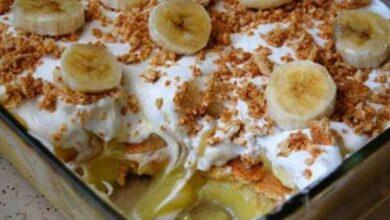 Como Fazer Pavê De Banana Caramelizada