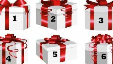 Escolha uma caixa e veja o presente que a vida reserva para você