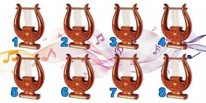Escolha uma das harpas e veja o louvor que falará hoje ao teu coração.