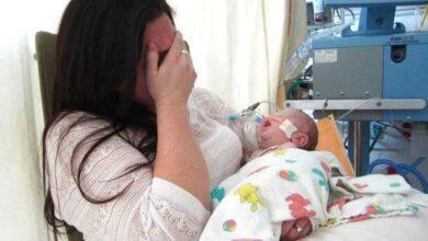 'Meu bebê entrou em coma por um erro ao amamentar', alerta mãe