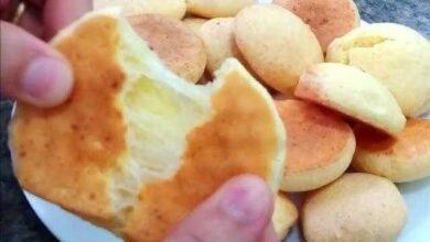 Foto de Pão de queijo feito com fécula de mandioca pratico