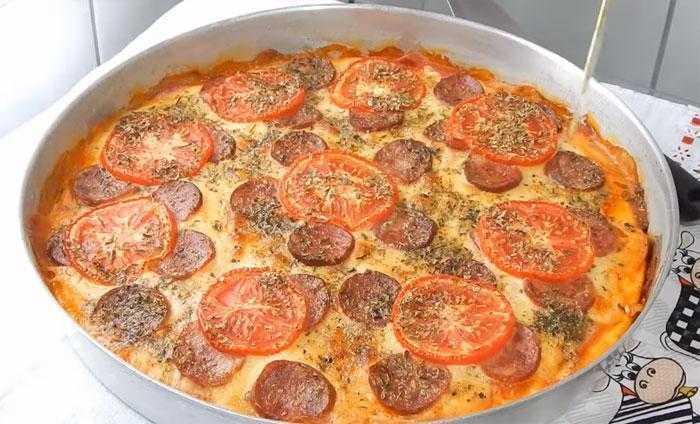 Pizza caseira de liquidificador maravilhosa e pratica