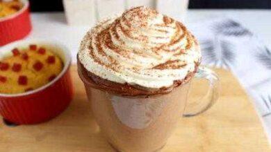 Receita de chocolate quente cremoso igual de cafeteria