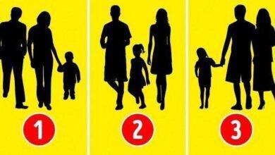 Teste psicológico: Qual dos grupos não é uma família?